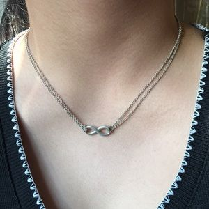 Infinity necklace.